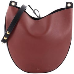 Celine Hobo Leather Medium