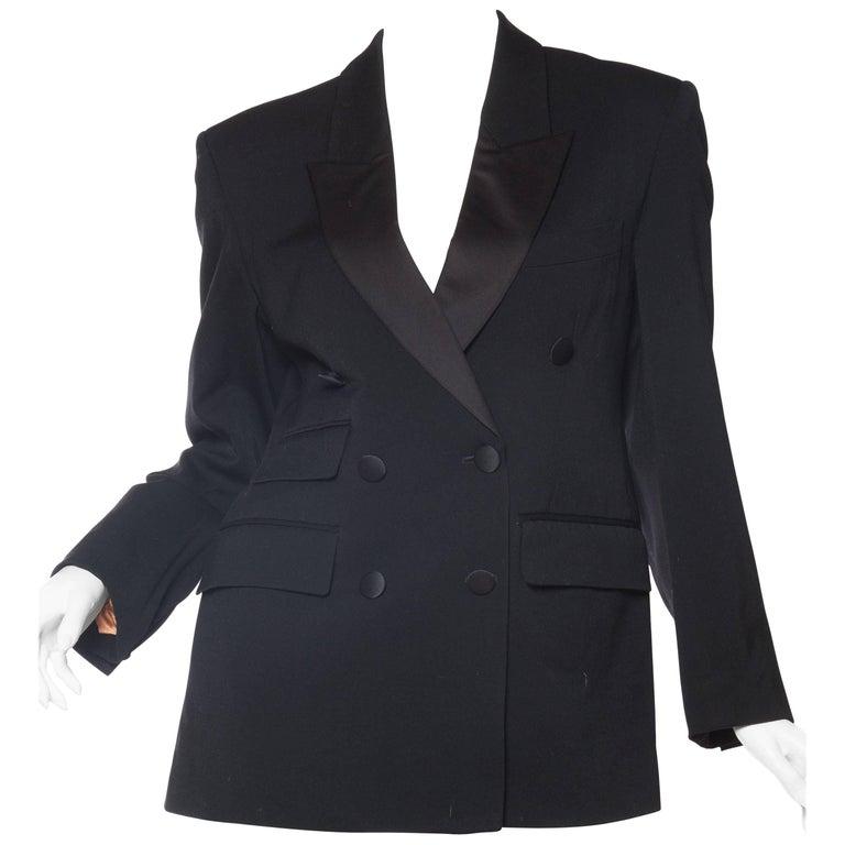 Vivienne Westwood Gold Label Satin Lapel Tuxedo Jacket