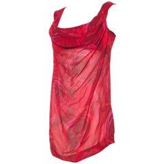 Vivienne Westwood Floral Corset Haltar Tunic Blouse