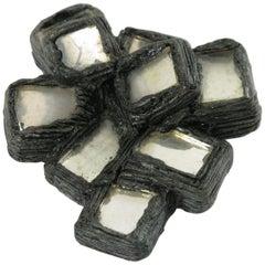 Line Vautrin Talosel Resin Geometric Brooch Pin