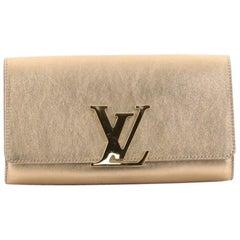 Louis Vuitton Louise Clutch Leather Long