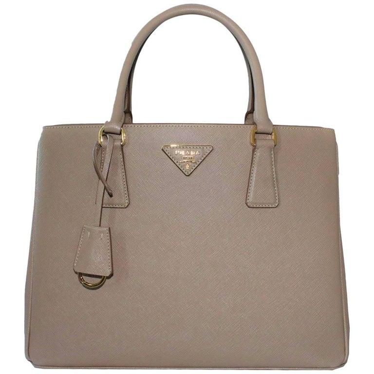 e33aee828f1547 Prada Galleria Saffiano Cameo Bag at 1stdibs