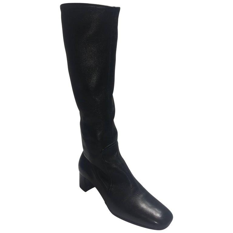 Prada Calf High Boots
