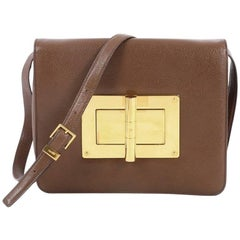 Tom Ford Natalia Convertible Clutch Leather Large