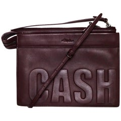 3.1 Phillip Lim Bordeaux Cash Only Crossbody/ Clutch Bag rt. $595
