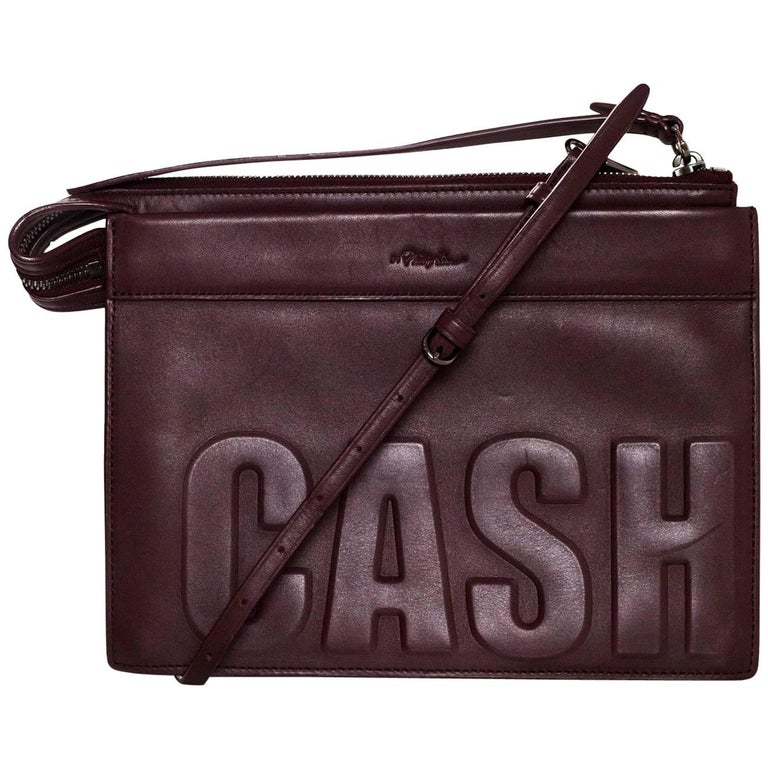 3.1 Phillip Lim Bordeaux Cash Only Crossbody/ Clutch Bag