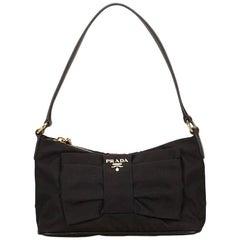 Black Prada Nylon Shoulder Bag