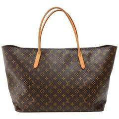 Louis Vuitton Raspail MM Monogram Canvas Large Shoulder Tote Bag