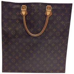 Louis Vuitton Sac Plat Monogram Tote