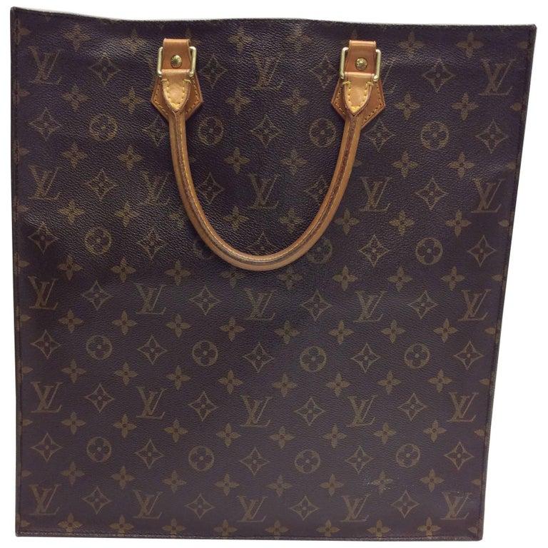 Louis Vuitton Sac Plat Monogram Tote