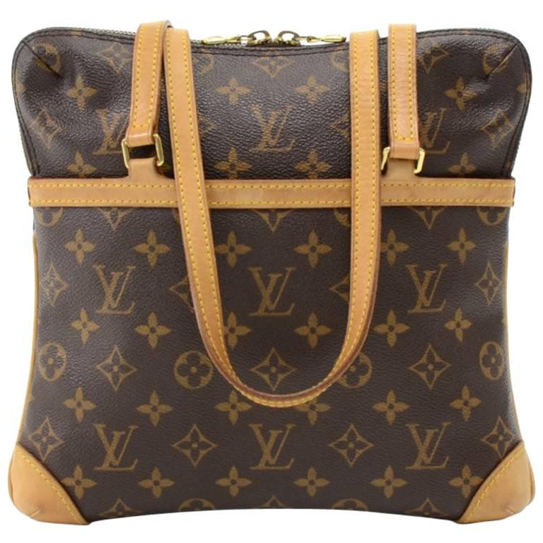 Louis Vuitton Coussin GM Monogram Canvas Shoulder Hand Bag  For Sale
