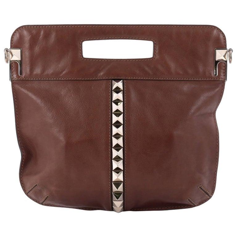 valentino glam lock convertible medium shoulder bag leather for sale at 1stdibs. Black Bedroom Furniture Sets. Home Design Ideas