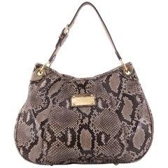 Louis Vuitton Galliera Handbag Smeralda Python PM