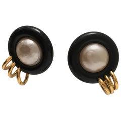 Chanel Clip Earrings, 2008