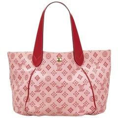 Louis Vuitton Pink Cabas Ipanema GM