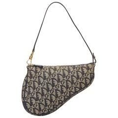 Dior Blue Diorissimo Saddle Handbag