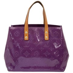 Louis Vuitton Vernis Reade PM Violette Top Handle Bag