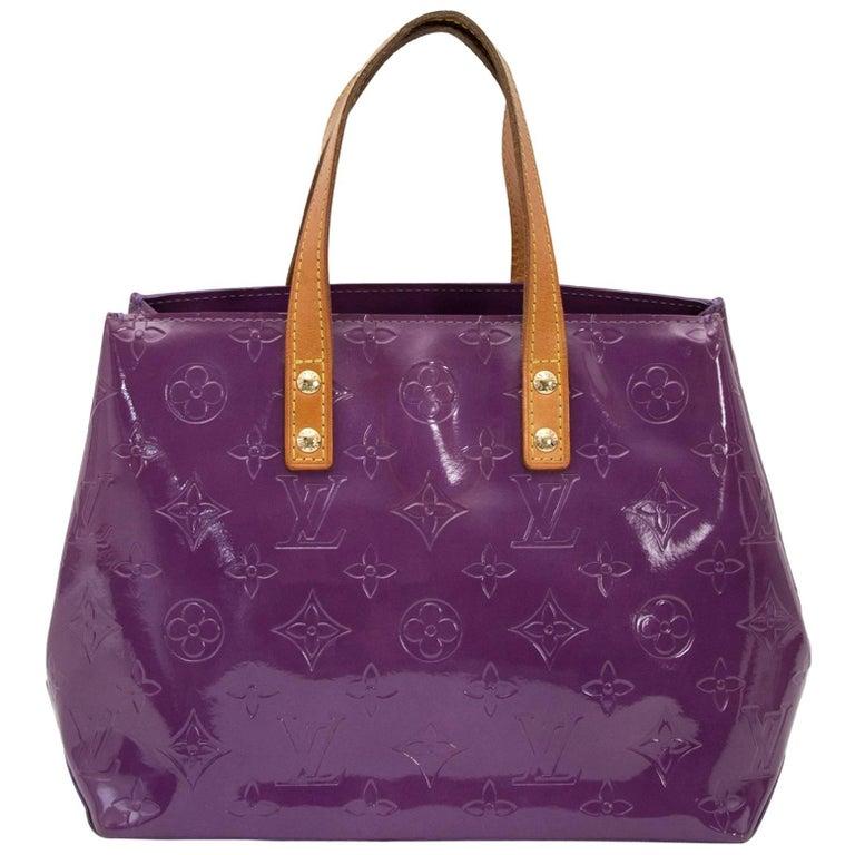 Louis Vuitton Vernis Reade PM Violette Top Handle Bag