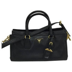 Prada East West Convertible Tote Saffiano Leather Medium