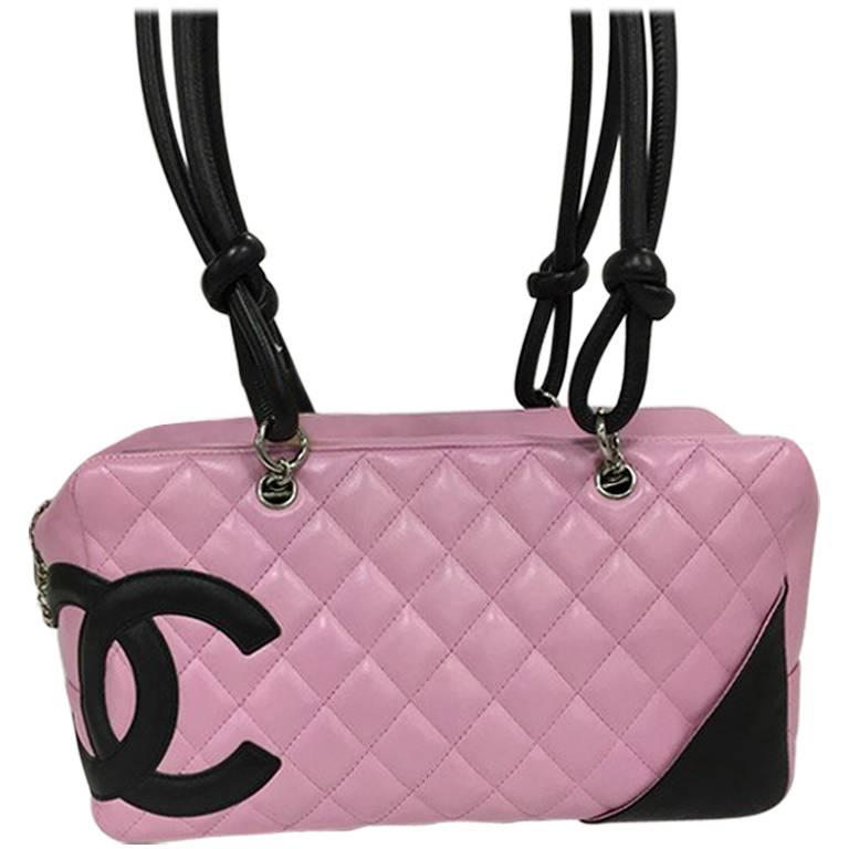 97e9d4aff11e Chanel Cambon Bowler Bag Quilted Leather Medium at 1stdibs