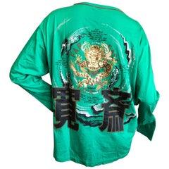 Kansai Yamamoto Man Long Sleeve Cotton Shirt