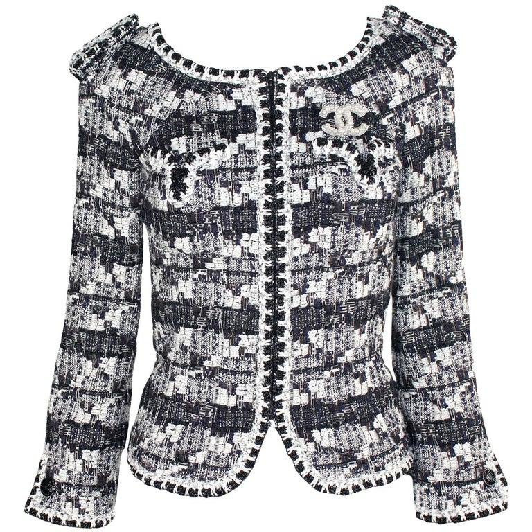 Stunning Chanel Lesage Fantasy Tweed Jacket