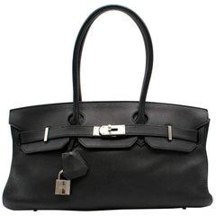 Hermes Birkin Shoulder Black Togo 42