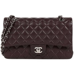 2014 Chanel 2.55 Bordeaux Caviar Like New