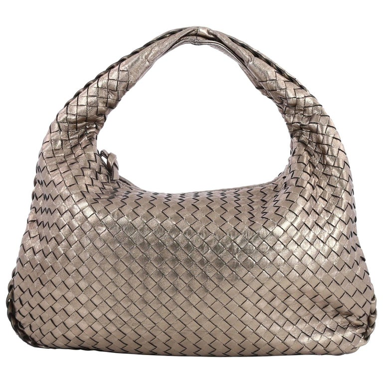 Bottega Veneta Veneta Hobo Intrecciato Nappa Medium at 1stdibs 9517b1ae9f3de