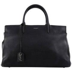 Saint Laurent Rive Gauche Cabas Leather Medium