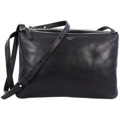Celine Trio Crossbody Bag Leather Small