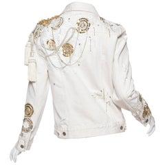Kara Ross Unleashed X Morphew Embellished Levis Jacket