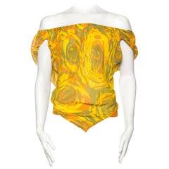 Sheer Chiffon Vivienne Westwood Blouse