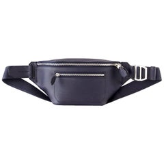 Hermes Cityslide Cross PM Taurillon Cristobal Leather Blue Indigo Limited Edtn