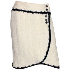 Chanel Signature Monochrome Lesage Boucle Skirt