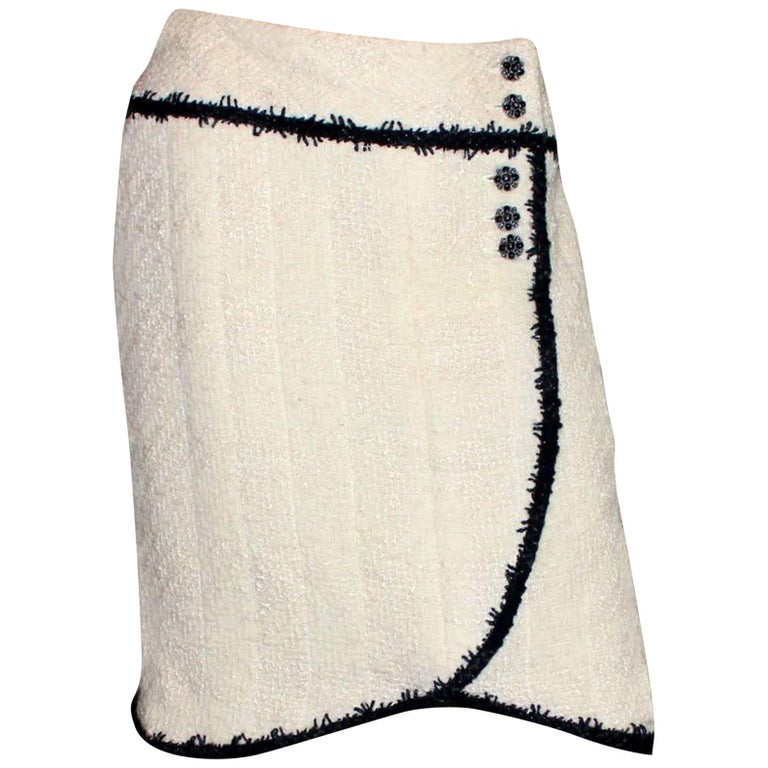 Chanel Signature Lesage Boucle Skirt