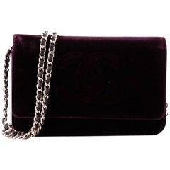 Chanel Timeless Wallet on Chain Velvet