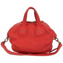 Givenchy Nightingale Madras Red in Excellent Condition