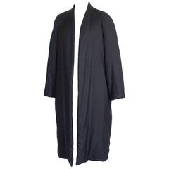 Hermes Coat w/ Long Shawl Weightless Warm Cashmere 38 / Runs Larger 6 to 8