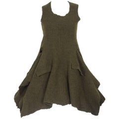 Comme des Garcons 1994 Collection Runway Boiled Wool Overdress