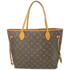 Louis Vuitton Neverfull MM Monogram Canvas Tote Bag