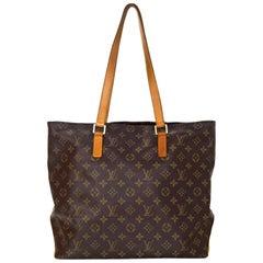 Louis Vuitton Monogram Cabas Mezzo Tote Bag