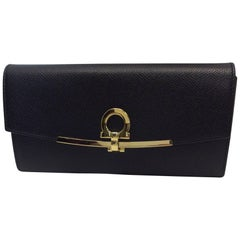Salvatore Ferragamo Black Wallet