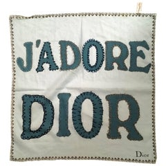 Christian Dior Scarf   J'Adore Dior 100% Cotton