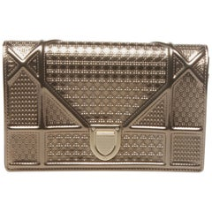 Christian Dior Silver/Gold Clutch