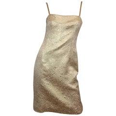 Dolce & Gabbana Metallic Dress