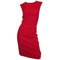 Oscar de la Renta Terrycloth Dress