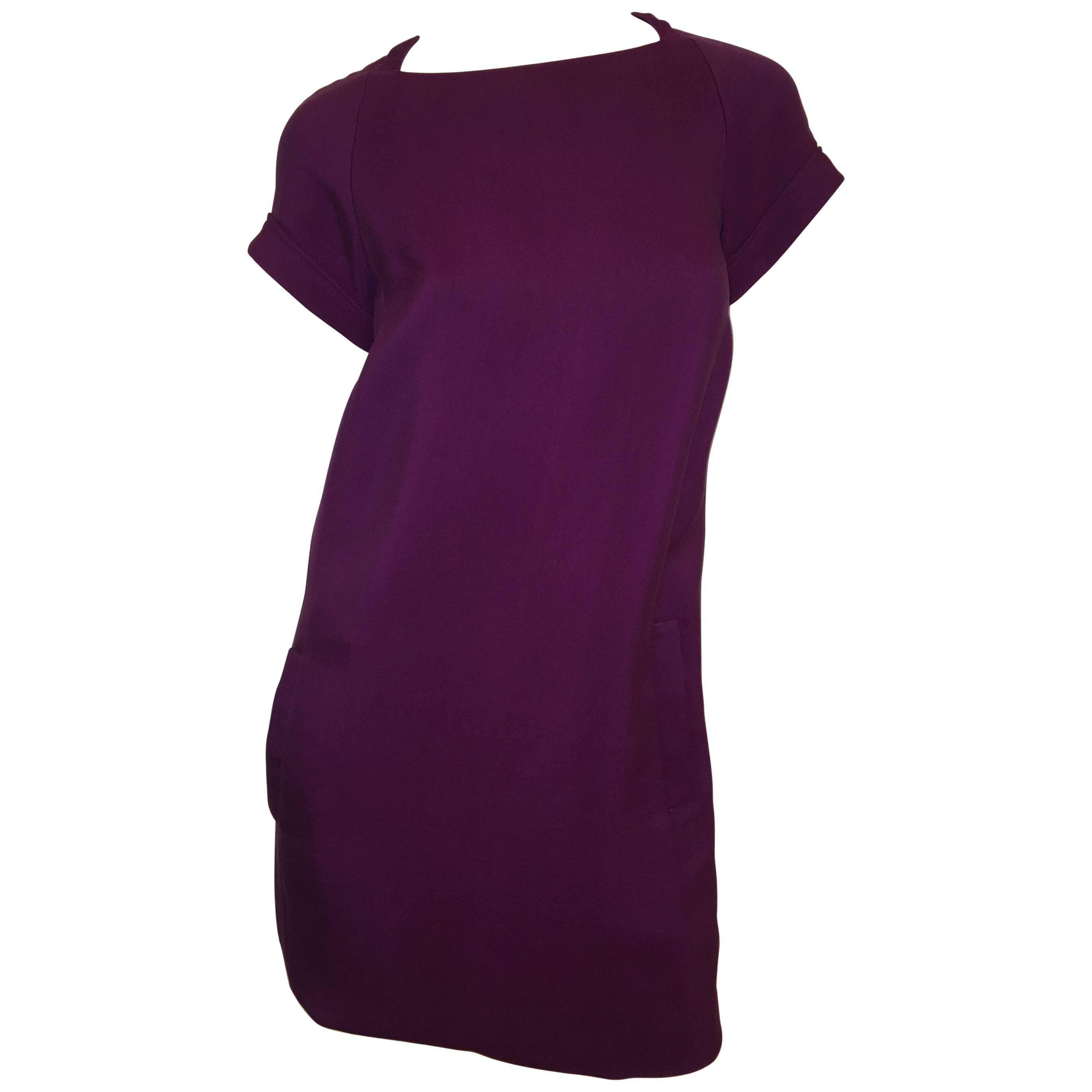 Derek Lam Plum Dress