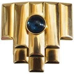 Balenciaga Art Deco Style Brooch