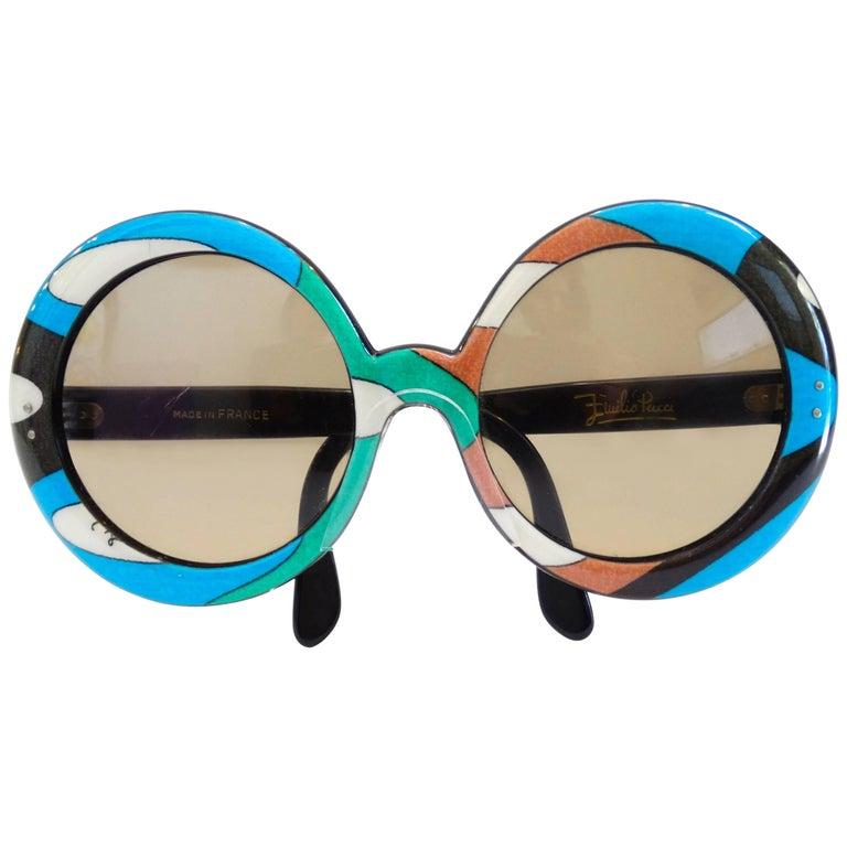Emilio Pucci Oversized Sunglasses, 1960s